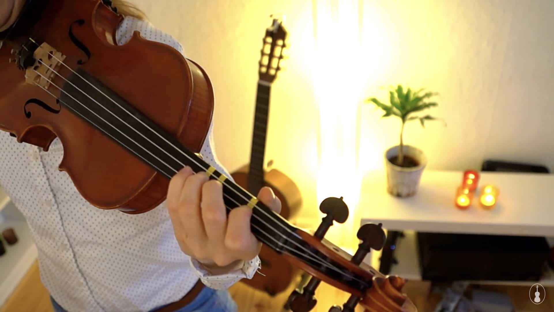 How to play Good King Wenceslas – Violin Lesson