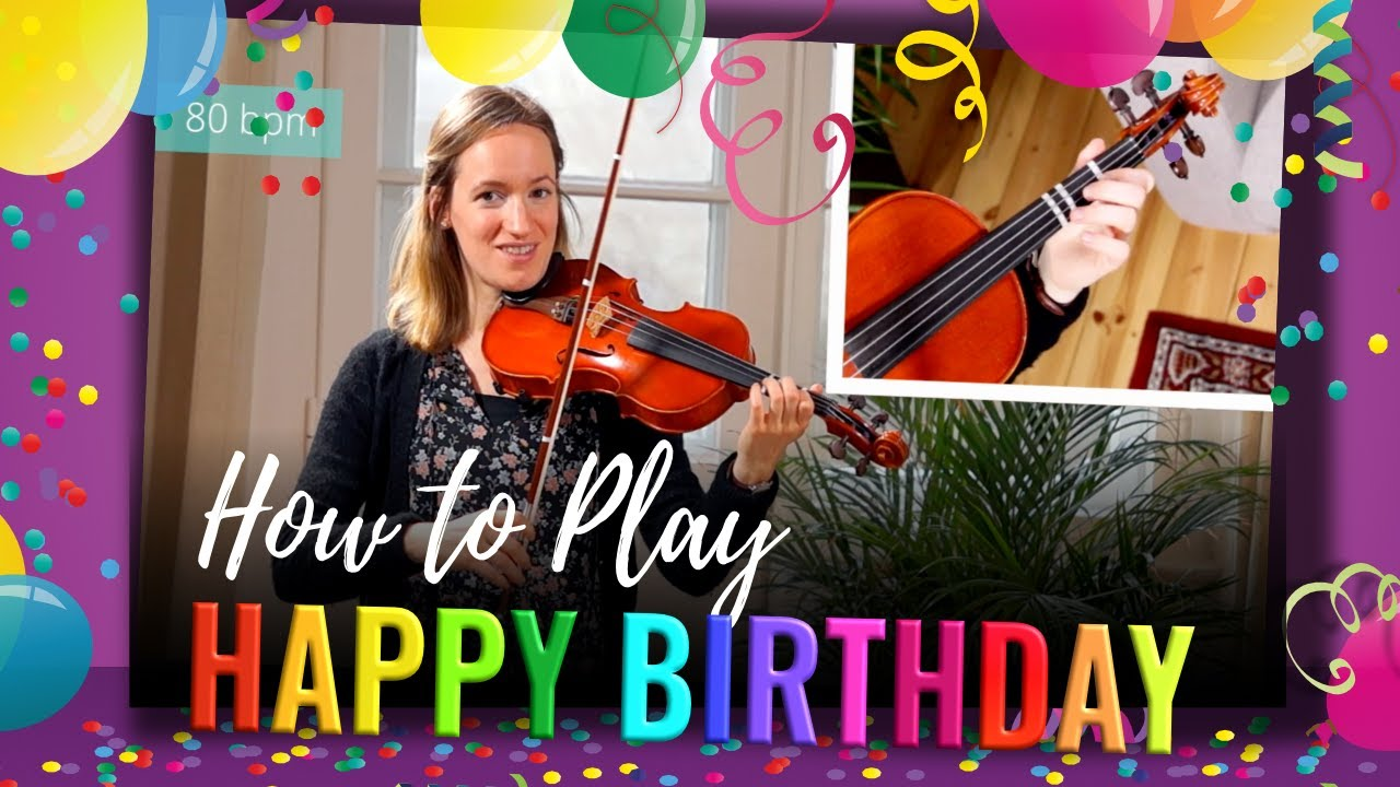 How to play Happy Birthday