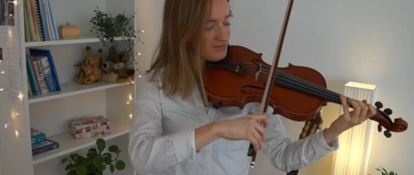 Violin Lesson How to play Hey Jude - The Beatles