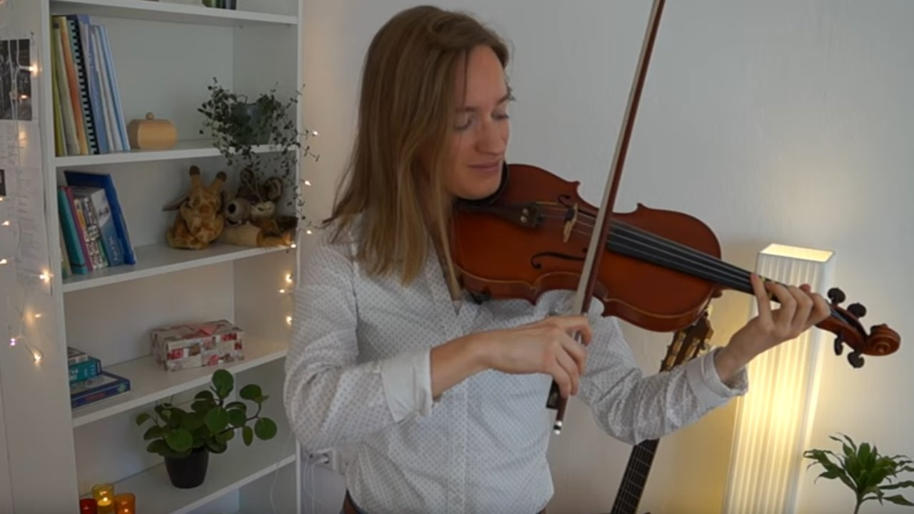 How to play Hey Jude – The Beatles Violin Lesson