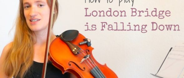 How to play London Bridge is Falling Down