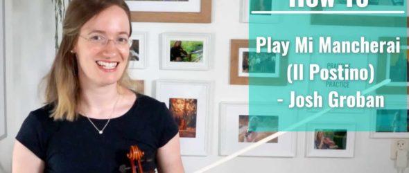 How to play Mi Mancherai (Il Postino) - Josh Groban