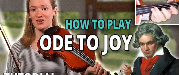How to play Ode to Joy - Violin Tutorial
