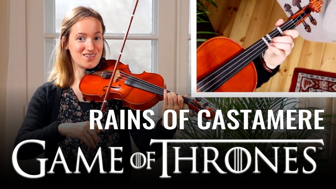 How to play Rains of Castamere (Game of Thrones)