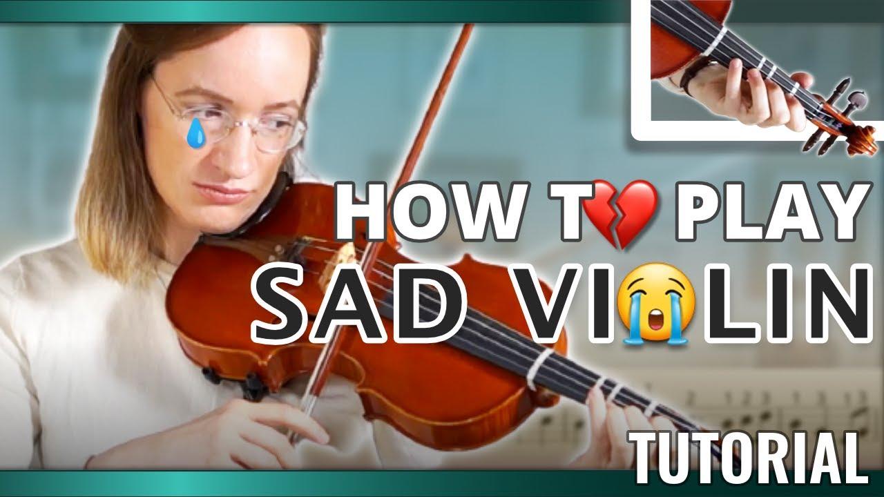 How to play Sad Violin | Intermediate Violin Song | Violin Tutorial