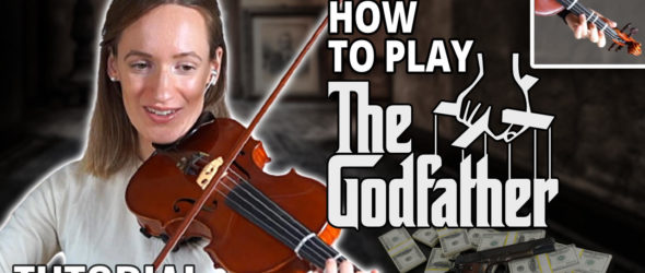 How to play The Godfather - Violin Tutorial