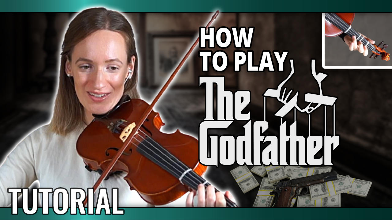 How to play The Godfather – Violin Tutorial