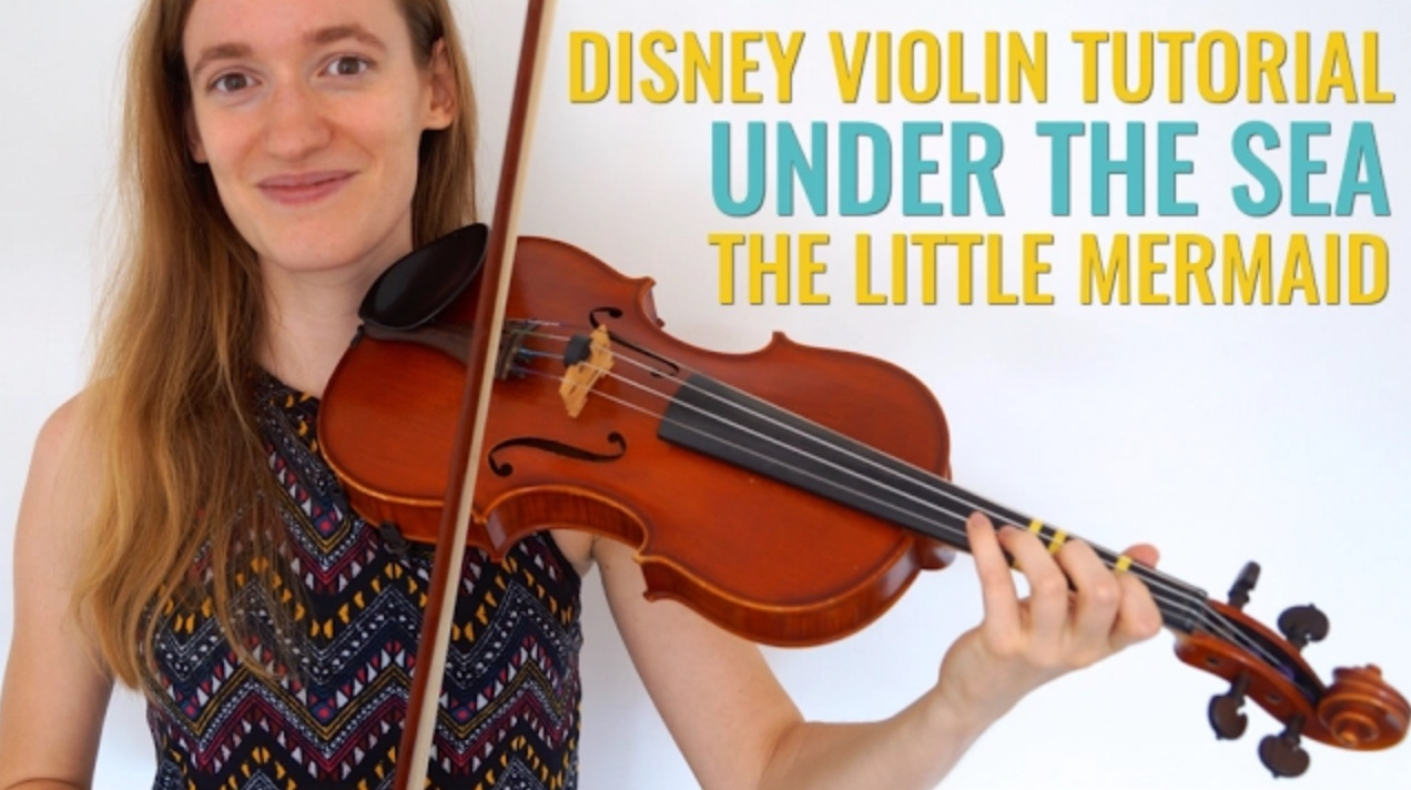 How to play Under the Sea – The Little Mermaid – Disney Songs