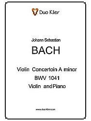 Intermediate Violin Concertos - Bach – Concerto in A Minor