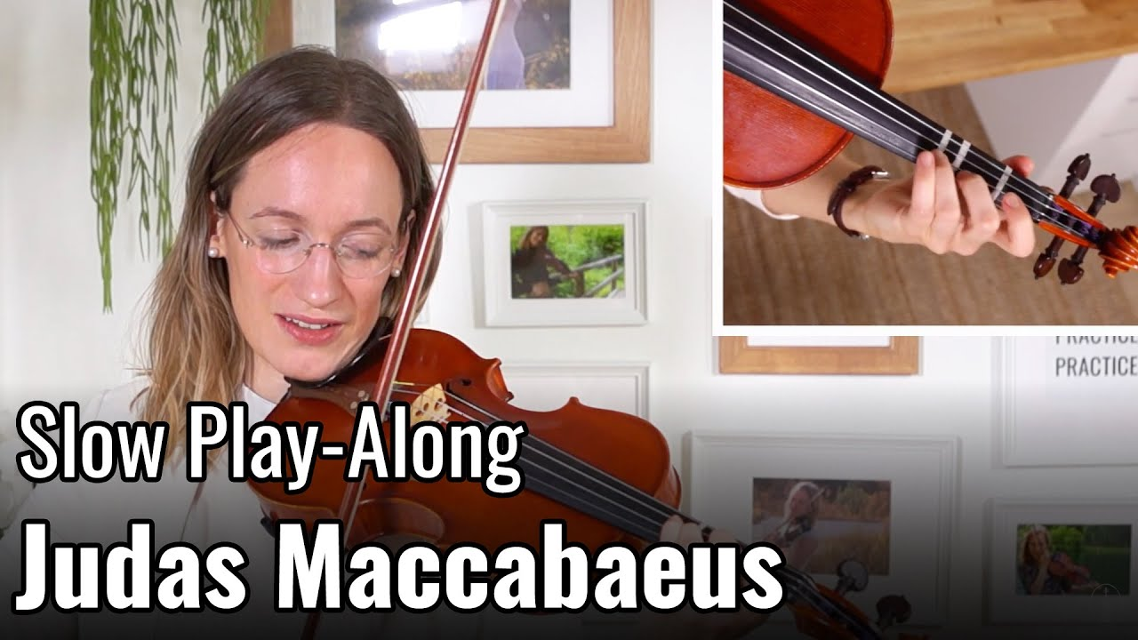 Violin Lesson – Judas Maccabaeus – Suzuki Violin Book 2