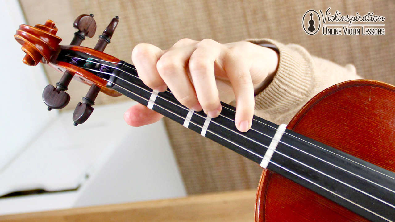 Left Hand Position on the Violin
