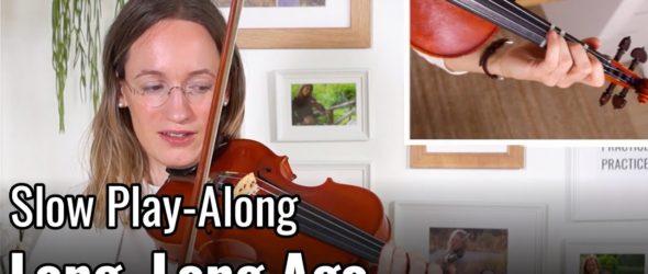 Violin Lesson - Long, Long Ago - Suzuki Violin Book 2