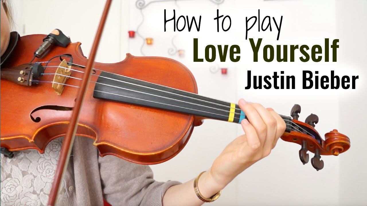 Love Yourself – Justin Bieber (how to play)