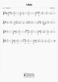 Lullaby - Brahms - Violin Sheet Music Tutorial