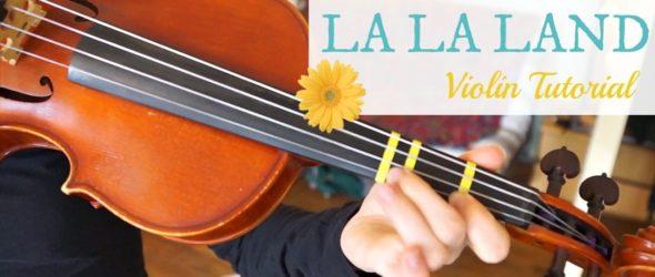 Mia & Sebastian's Theme - La La Land - Violin Lesson