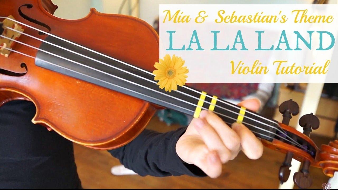 Mia & Sebastian's Theme – La La Land – Violin Lesson
