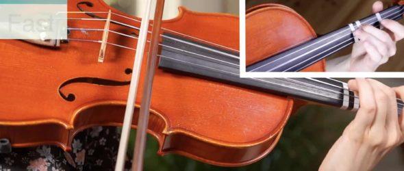 Minuet 1 - J. S. Bach - Suzuki Violin Book 1 - Violin Lesson