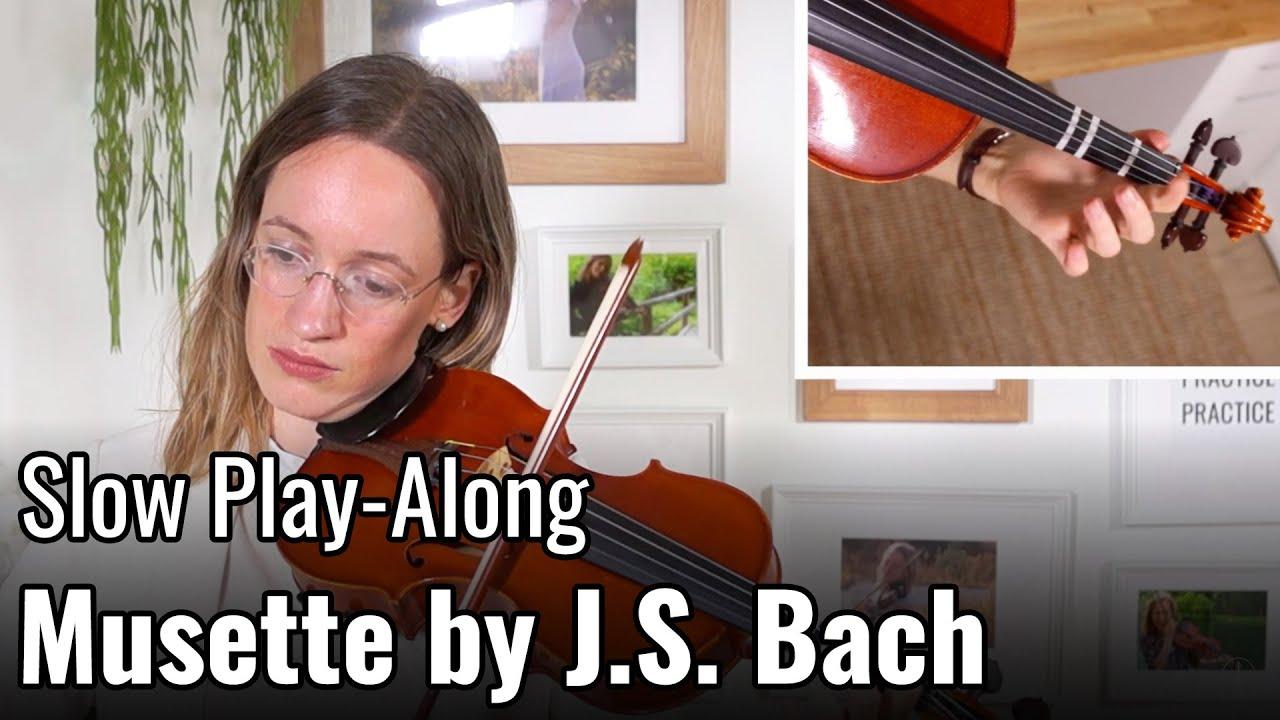 Musette by J.S. Bach – Suzuki Violin Book 2