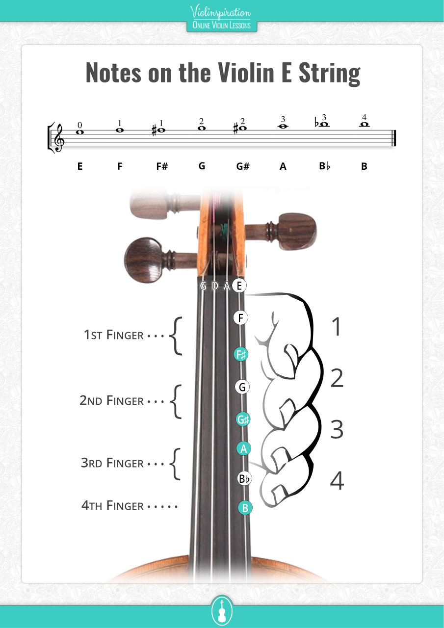 Notes on the Violin E String