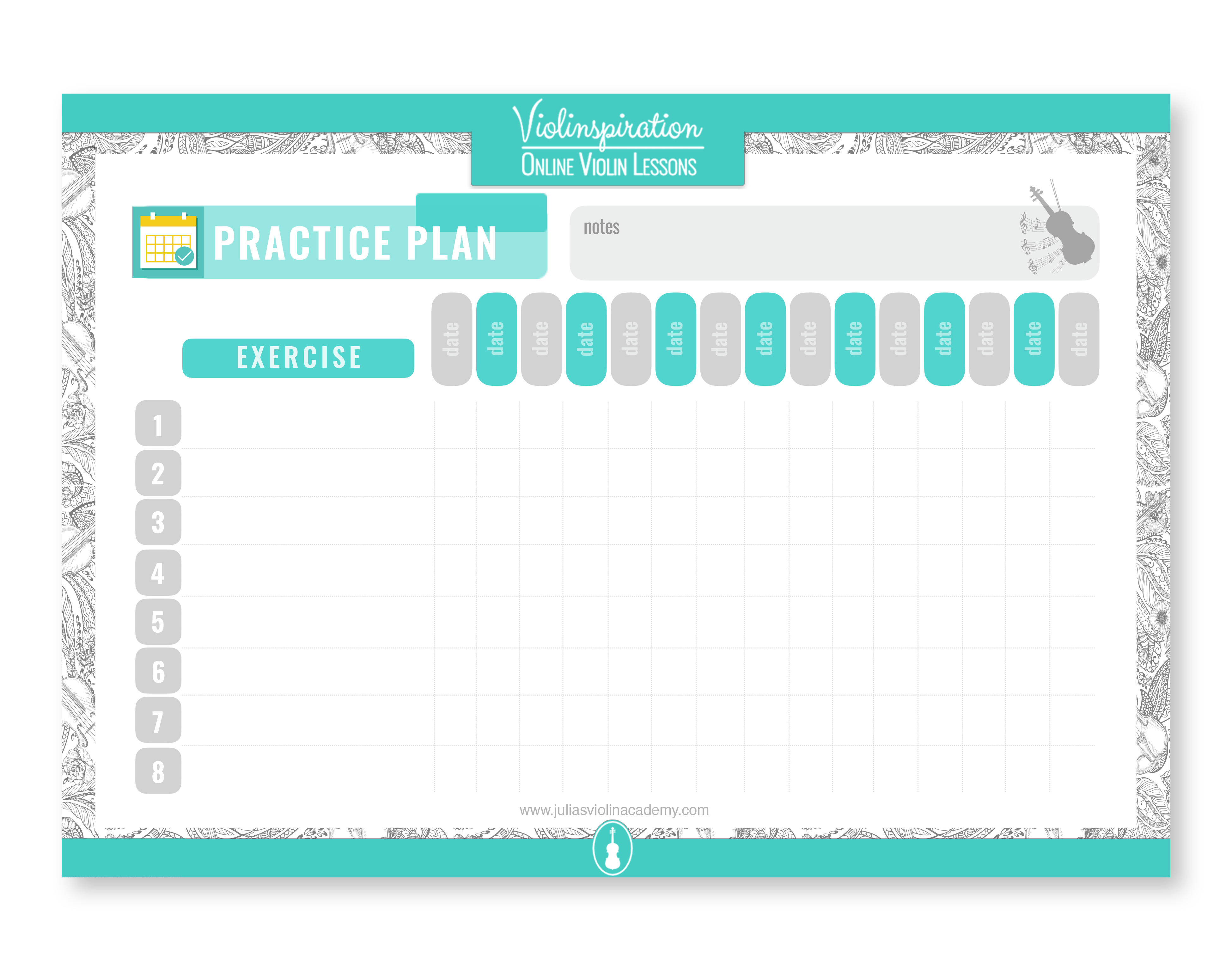 Practice Plan - PDF Downloads
