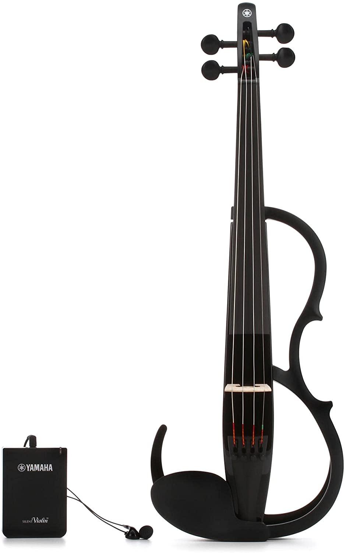 Practicing The Violin - Yamaha-Silent Violin YSV104