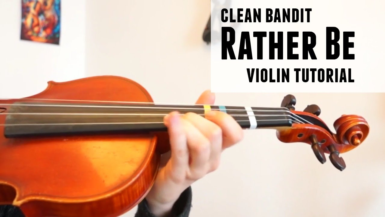 Rather Be – Clean Bandit (how to play)