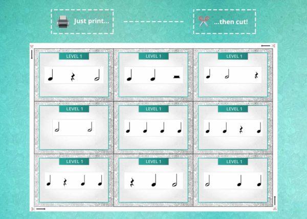 Card Game - Rhythm Cards (2)