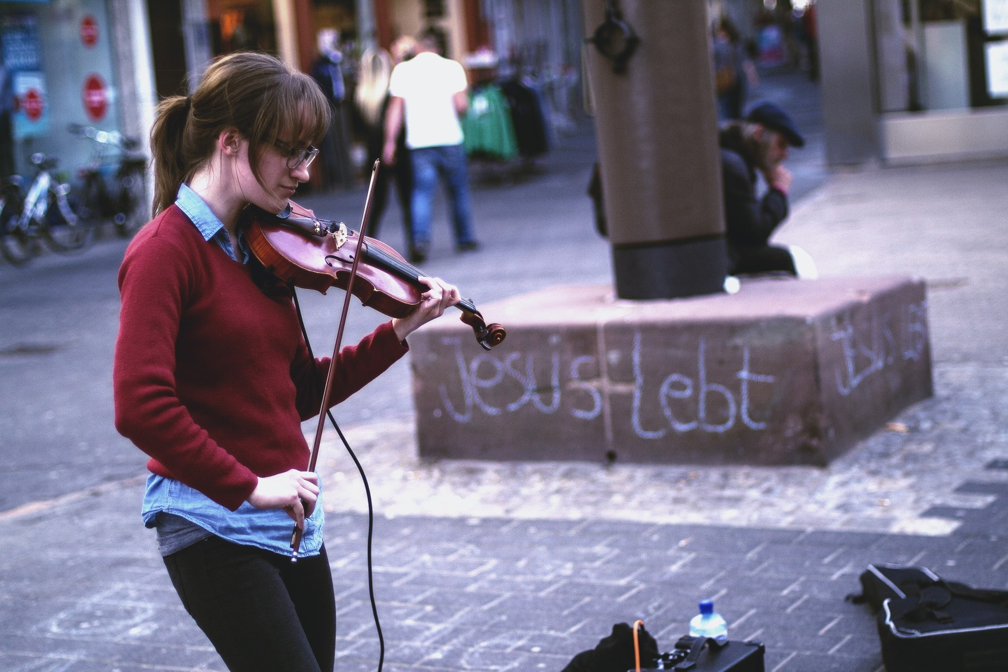 Should I Quit Violin? - My Time Spent Traveling as a Street Musician