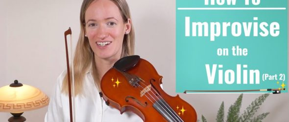 Violin Lesson How to Improvise on the Violin - Lesson 2: The Blues Scale in A Minor