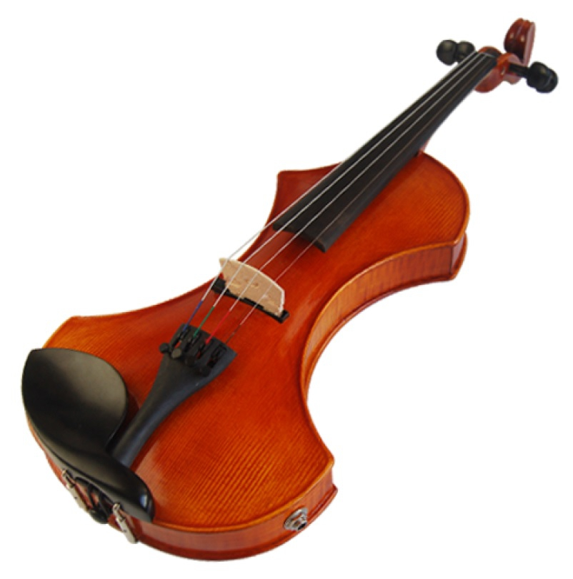 The Most Popular Violin Types - Electric-acoustic Violin with Modified Soundbox