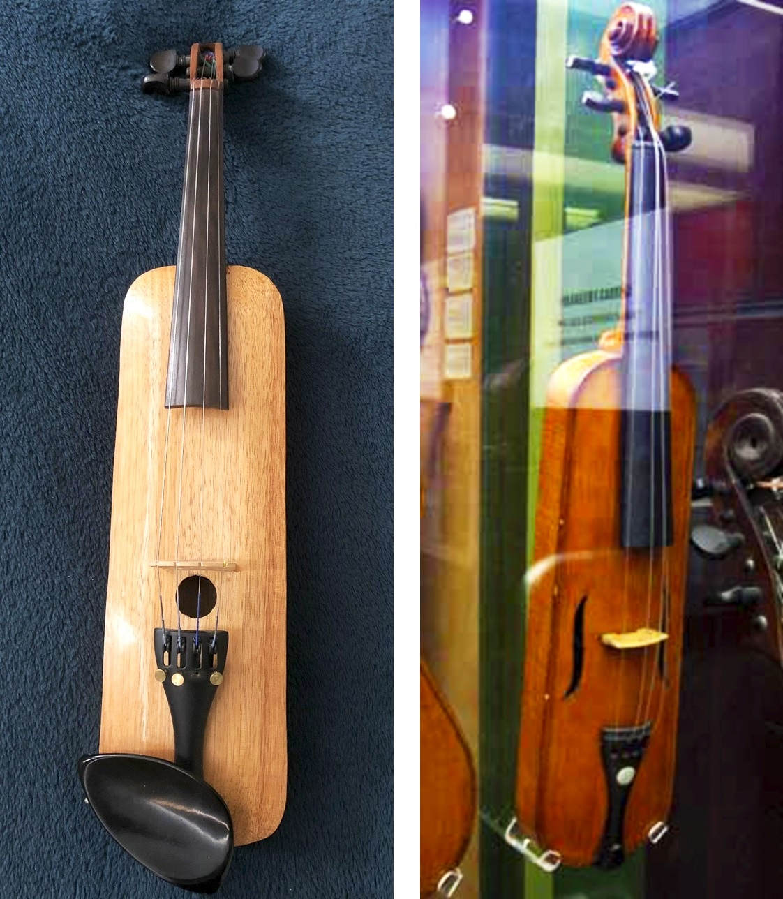 The Most Popular Violin Types - Pochette built by Jerry Everard and the reference instrument