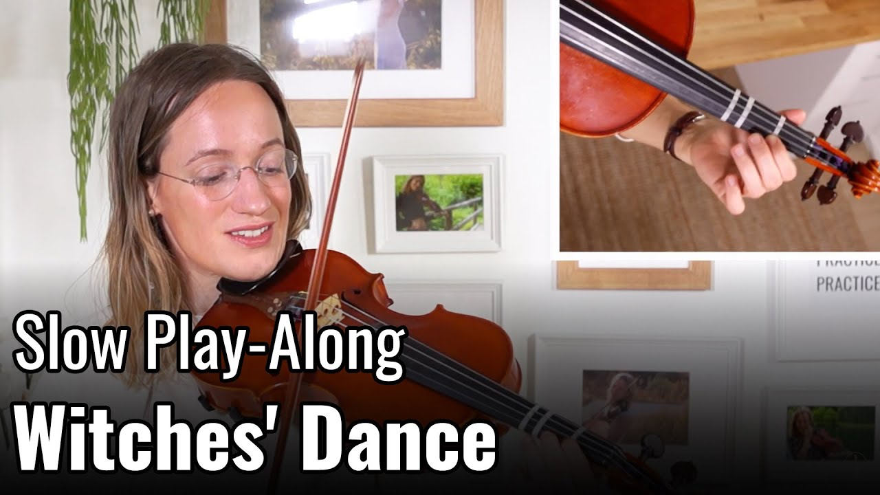 Theme from Witches' Dance – Suzuki Violin Book 2 – Violin Lesson