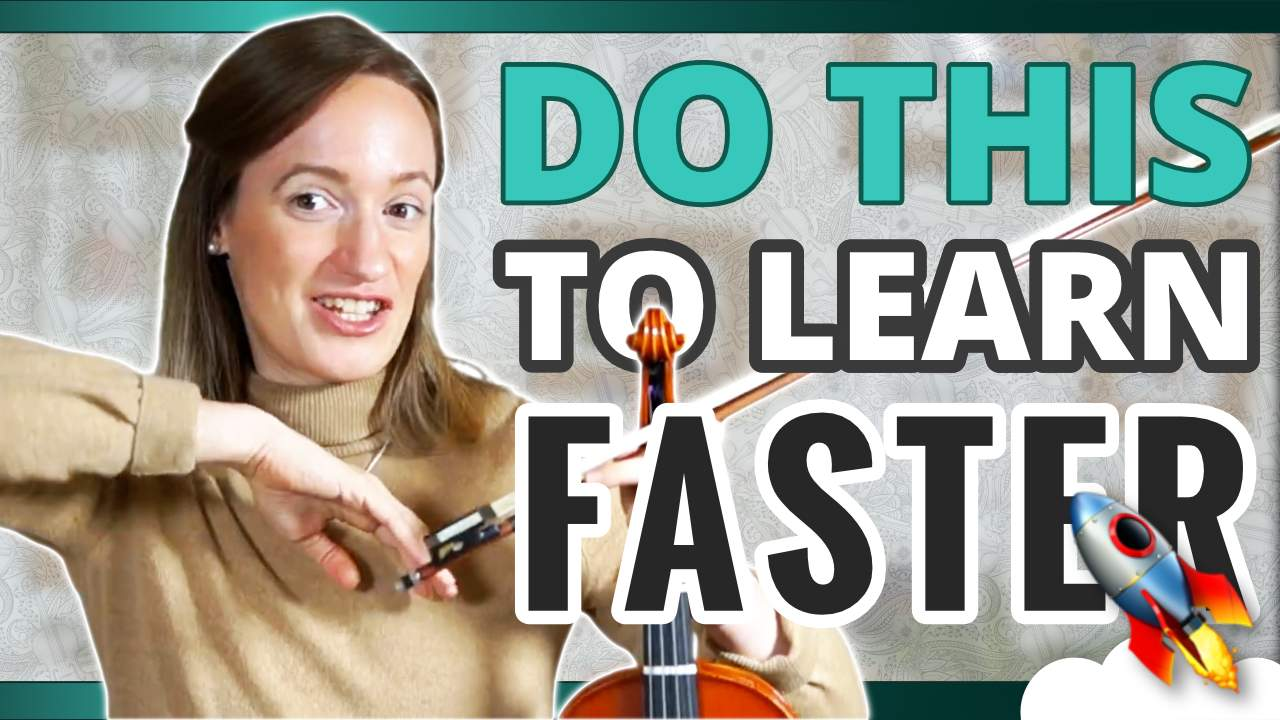 Do This To Learn Faster – Violin Lesson