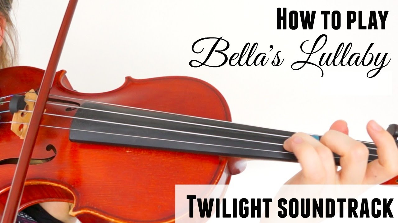 Twilight – Bella's Lullaby (how to play)