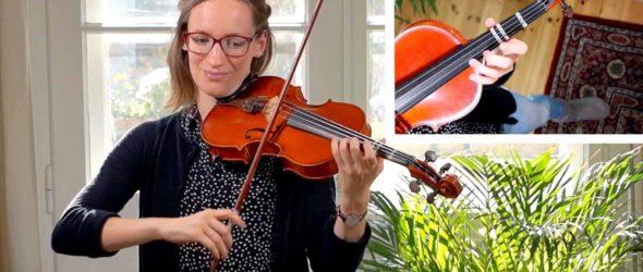 Twinkle Twinkle Little Star – Intermediate version_1 - Violin Lesson