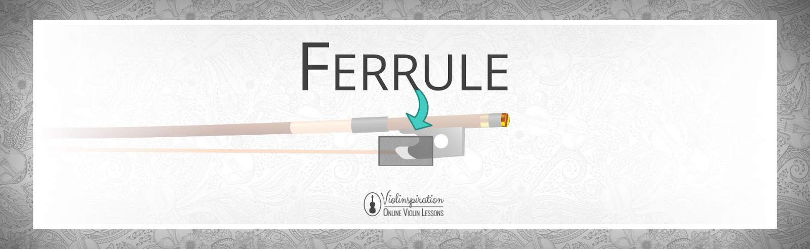 Violin Bow Parts - Ferrule