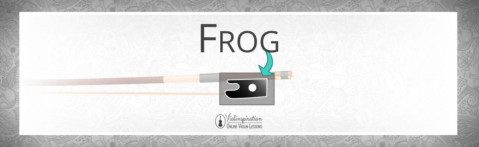 Violin Bow Parts - Frog