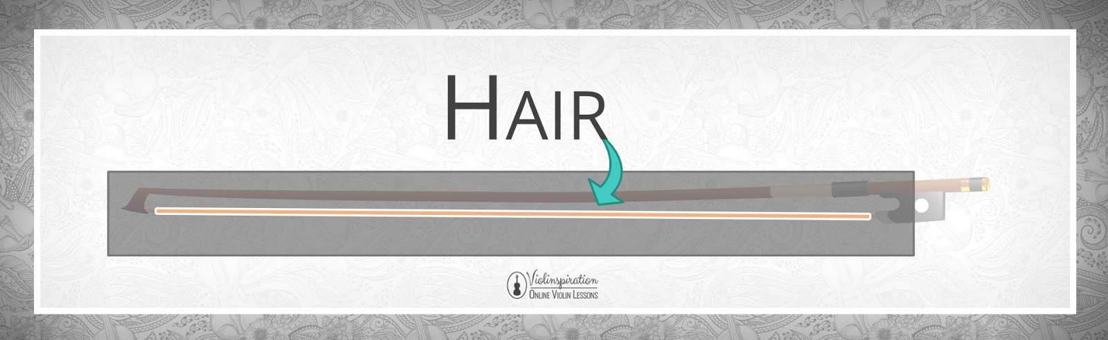 Violin Bow Parts - Hair