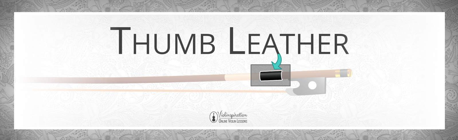 Violin Bow Parts - Thumb Leather