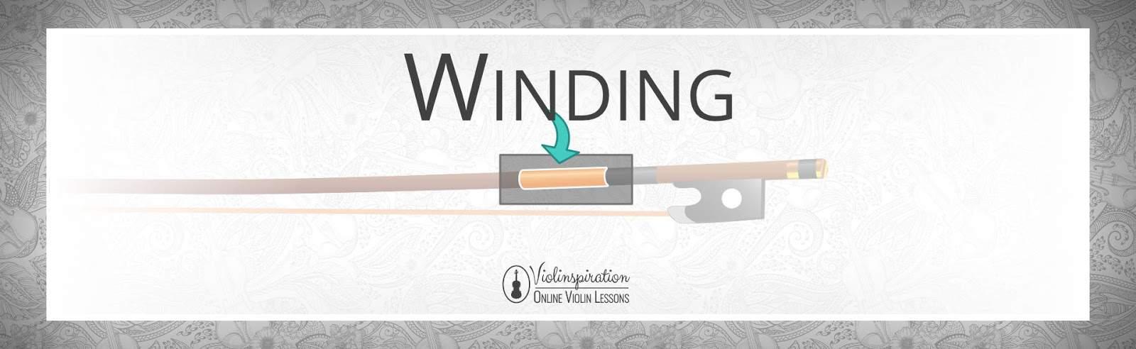 Violin Bow Parts - Winding