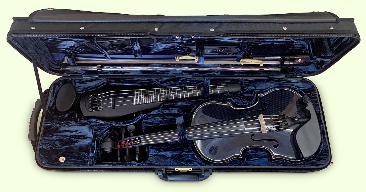 Violin Case - Doppeletui e-Violine 2