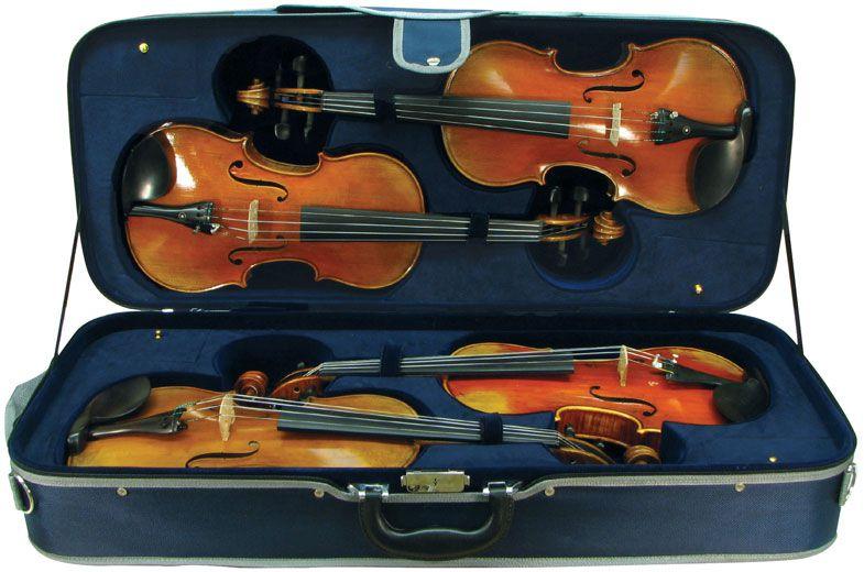 Violin Case - Maple Leaf Strings Quad Violin Case