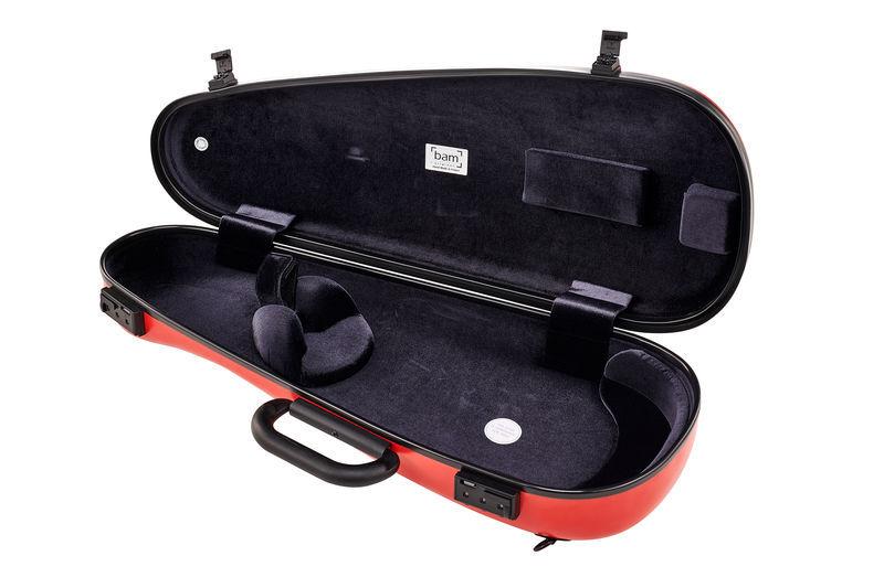 Violin Case - bam 2003XLW Cabin inside