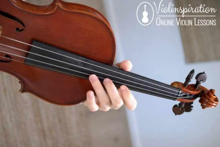 Violin Harmonics Middle