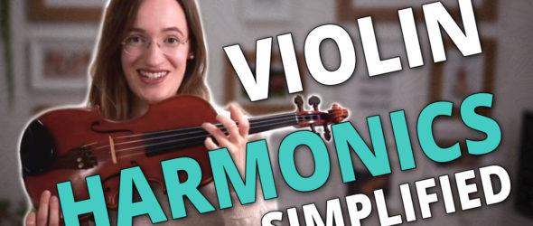 Violin Harmonics Simplified