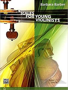 Violin Intonation Exercises - Barbara Barber - Scales for Young Violinists