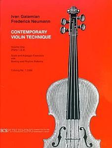 Violin Intonation Exercises - Contemporary Violin Technique by Galamian