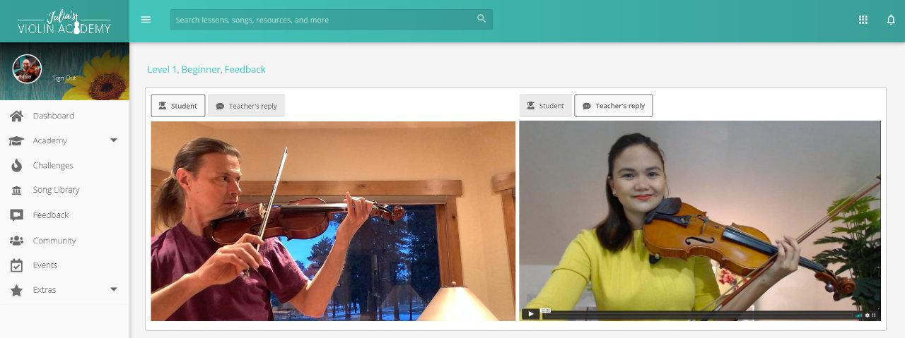 Violin Intonation Exercises - Julias Violin Academy Feedback