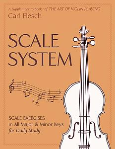 Violin Intonation Exercises - Scale System Exercises in All Major and Minor Keys for Daily Study by Carl Flesch
