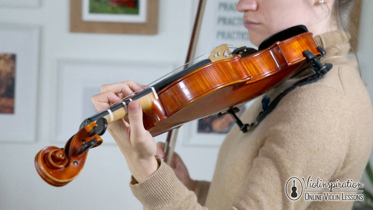 Violin Left Hand Position - Shifting